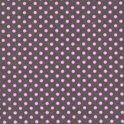 Grafit w różowe grochy